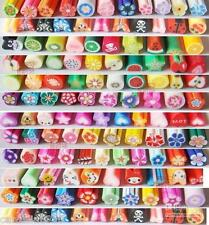 Da 150 a 1000 FETTINE FIMO Nail art Decorazioni unghie Fimo slices