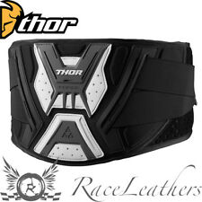 Thor Force Nero Bianco MX motocross moto CINTURA DI RENE