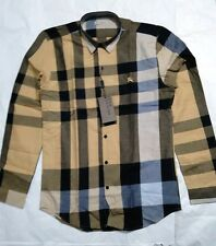 BBerry Brit Checkered Shirt - Camel - Imported