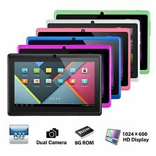 7 inch HD Unlocked Tablet PC 8GB Wi-Fi Quad Core Google Android 4.4 Tablet US