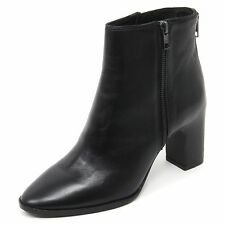 B7060 tronchetto donna ASH FARAH scarpa stivaletto nero boot shoe woman