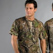 NEW MEN WOMEN MILITARY ARMY REALTREE CAMOUFLAGE CAMO T-SHIRT COMBAT SAS WOODLAND