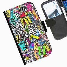 STICKERBOMB COOL COLLAGE Funda Carcasa para iPhone Samsung Sony Blackberry