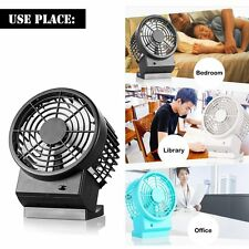 Mini Portable USB Desktop Cooling Fan For Computer Laptop Quiet Home Office Use
