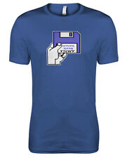 Commodore Amiga A500 Kickstart Workbench Insert Disk Geek Womens T-shirt