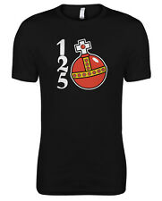 Monty Python and the Holy Grail Holy Hand Grenade Antioch 1,2,5 Womens T-shirt