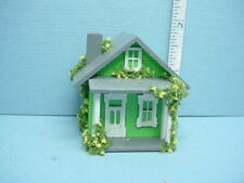 Dollhouse Miniature Dollhouse For A Dollhouse 1/144 Scale w/Porch Handcrafted