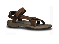 "WOMENS TEVA ""TERRA FI LITE LEATHER"" SANDALS. HIGH QUALITY. BROWN"