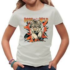 Born To Be Wild - Wolf Biker, Trucker, Wildnis, Tiere Shirt
