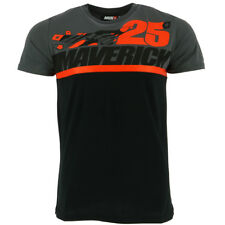 Maverick Vinales 25 Moto GP Team Panel Camiseta Oficial 2018