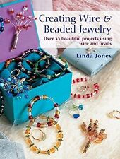 Book : Creating Wire & Beaded Jewelry by Jones  Linda Paperback New