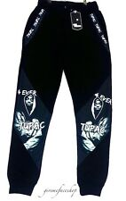 2 Pac joggers, street dance hip hop tracksuit bottoms, joggers urban casual 2pac