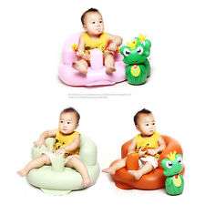 Baby Safety PVC Sofa Inflatable Stool Training seat Bath Dining Chair Seat