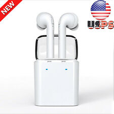 Wireless Bluetooth In-ear Earphones Stereo Headset For iphone 7 Airpods Android