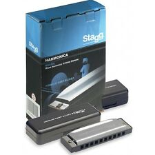 Stagg BJH-B20 Blues Harmonica in Major - A, B, C, D, E, F, or G
