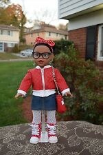 18 inch (Retired) Madame Alexander Brand New African American Doll