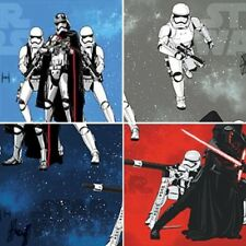 Disney Star Wars Kylo Ren And Storm Troopers 100% Cotton Curtain Lining Fabric