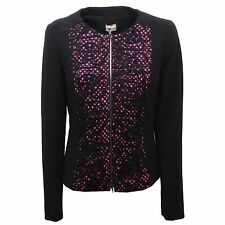 B6246 giacca donna PENNYBLACK BOMBER nero jacket woman