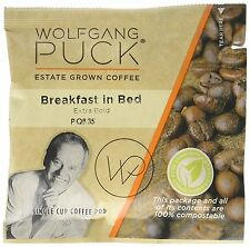 Wolfgang Puck coffee, Breakfast In Bed, 12 Gram Pods, 48 Count