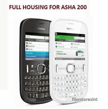 Brand New Full Body Housing Faceplate for Nokia Asha 200 (Black)& (White)