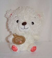Hallmark Cuddles To Share XOXO White Teddy Bear Plush Stuffed Animal Toy 8