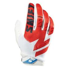 SHIFT MX Motocross / MTB Handschuhe Faction - weiß-rot Motocross Enduro MX