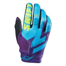 SHIFT MX Motocross / MTB Handschuhe Faction - lila-gelb Motocross Enduro MX