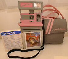 Polaroid 600 Instant Camera Pink Grey Cool Cam +Matching Camera Bag &Film TESTED