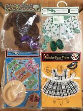 Muffy Vanderbear Collection FOUR outfits, NEW
