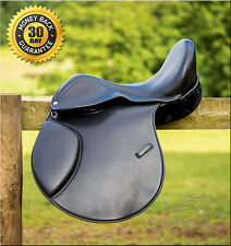 New 2017 Easytrek treeless GP black leather saddle, adjustable narrow - wide fit