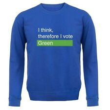 I Think, Therefore I Voto Verde - Unisex Jersey/JERSEY - ELECCIONES - 8 COLORES