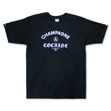Crooks & Castles Champagne and Cocaine T-shirt Black