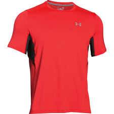 Under Armour Men's CoolSwitch Run Short Sleeve T-Shirt - Red only £22.99