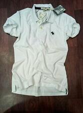 Abercrombiee & Fitch Polo Tshirts - White