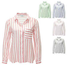 Only Camicetta da donna Manica lunga Camicia Blusa Shirt Top Color Mix NUOVO