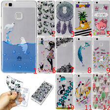 Ultra Slim Rubber Soft TPU Silicone Back Case Cover For Samsung Huawei Phone