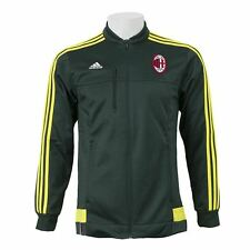 adidas AC Milan Anthem Jacket Green/Yellow Mens Football Soccer Tracksuit Top