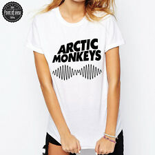 ARCTIC MONKEYS T-SHIRT SKIRT ALTERNATIVE INDIE RIBBON FANSHIRT TOP