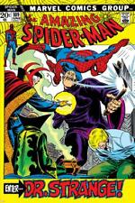 Poster The Amazing Spider-Man No.109 Cover: Spider-Man, Dr. Strange, and Flash