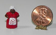 Dollhouse Miniature Mammy Figure Multi Minis 1:12 Scale