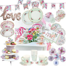 Talking Tables Truly Romantic Wedding Tea Party Tableware Sets Table Decoration