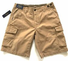 Polo Ralph Lauren Chino Shorts Mens Beige Brown Classic Fit Carryover3 NWT Sale