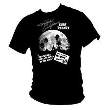 'Hotel California' surf shack The Eagles tribute mens T-shirt all sizes