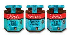 Geetas Lime Chilli and Mango Flavours Chutney Multiple Pack