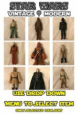 Vintage & Modern Star Wars Figures & Vehicles : Hasbro - Kenner + More - Used