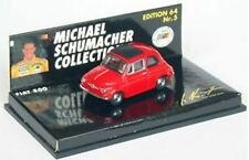 MINICHAMPS Michael Schumacher Collection model cars Fiat 500 Ford Cosworth 1:64