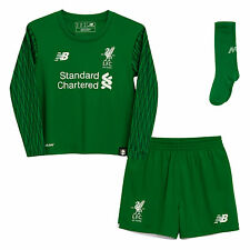 Liverpool FC LFC Infant Home Goalkeeper Kit 17/18 Official