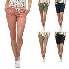 Only Shorts da donna Chinos Stretch Pantaloncini Bermuda Color Mix NUOVO