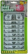 Paper Play Money, Cash Dollar Bills - 1, 2, or 4 Pack