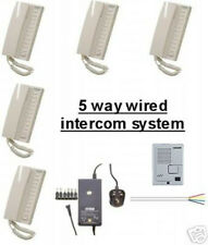Office etc Eagle Kocom 11 Way All Master 24 VDC Handset Intercom for Home